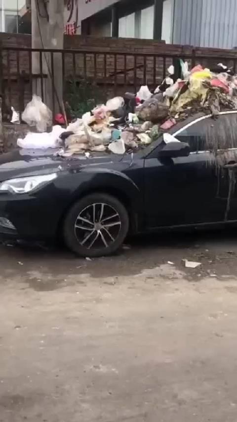 人家就是停个车,何必这样呢?