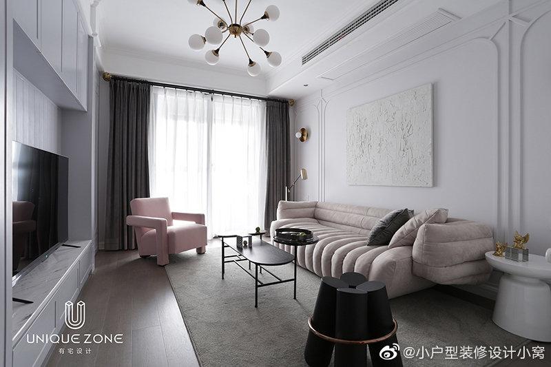 91㎡现代轻奢风住宅丨有宅设计