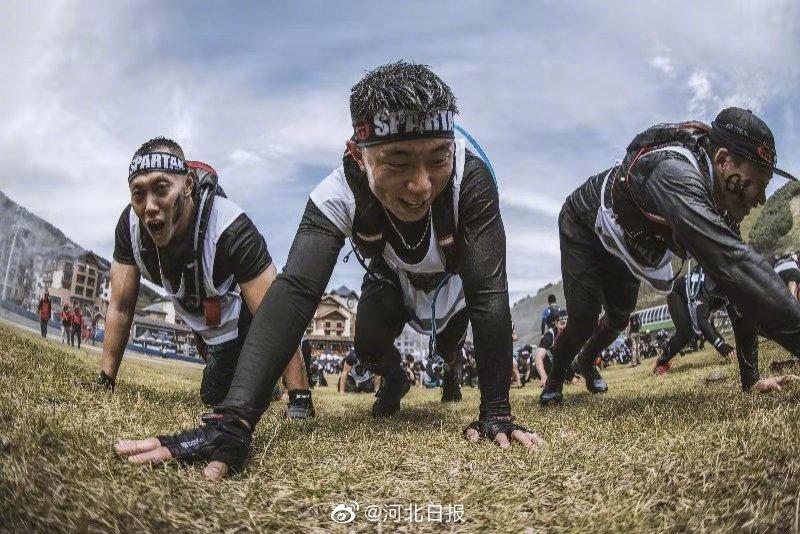 斯巴达勇士赛亚锦赛首次在崇礼开赛 15000人在太舞挑战自我