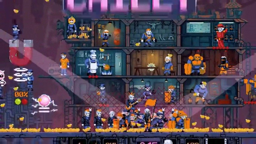 2D像素街机游戏《DRAW CHILLY》今天登陆Steam
