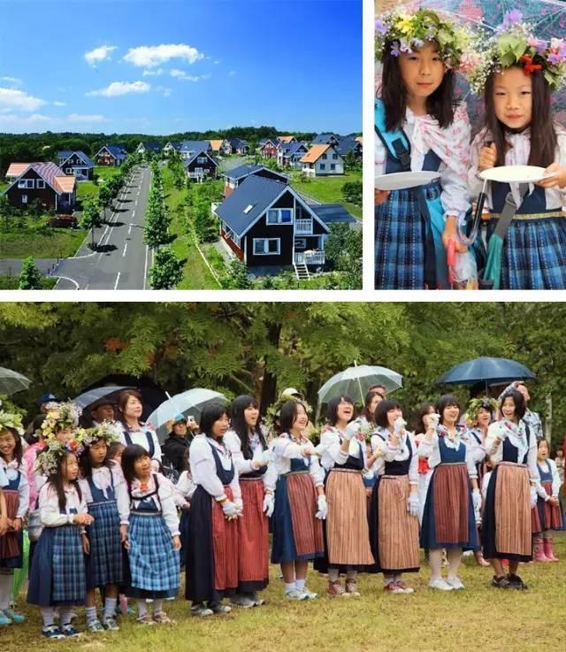 日本有个瑞典镇,他们把关于瑞典的一切都搬了进去