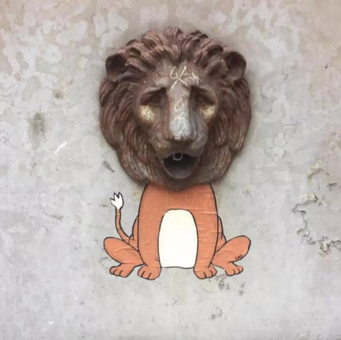 法国艺术家 CAL 街头绘画作品  |  ins