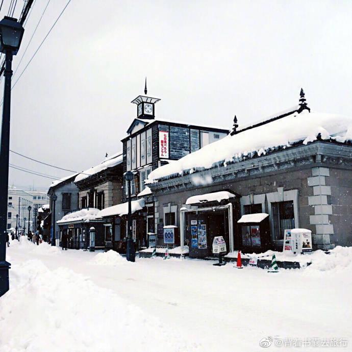 日本北海道小樽---电影《情书》的取景地,好美~