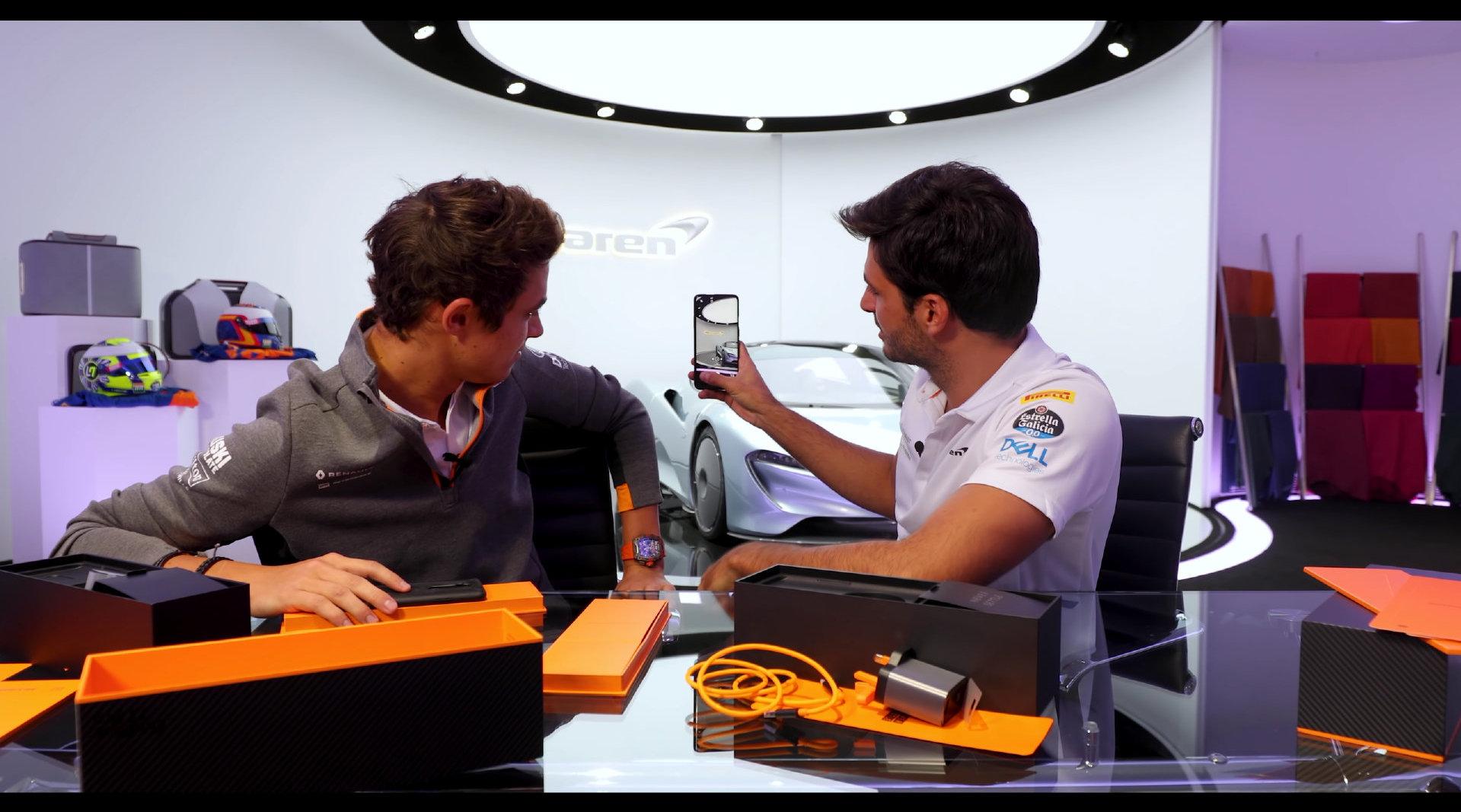迈凯伦F1车队2019赛季车手卡洛斯·塞恩斯(Carlos Sainz)和兰多·诺里斯