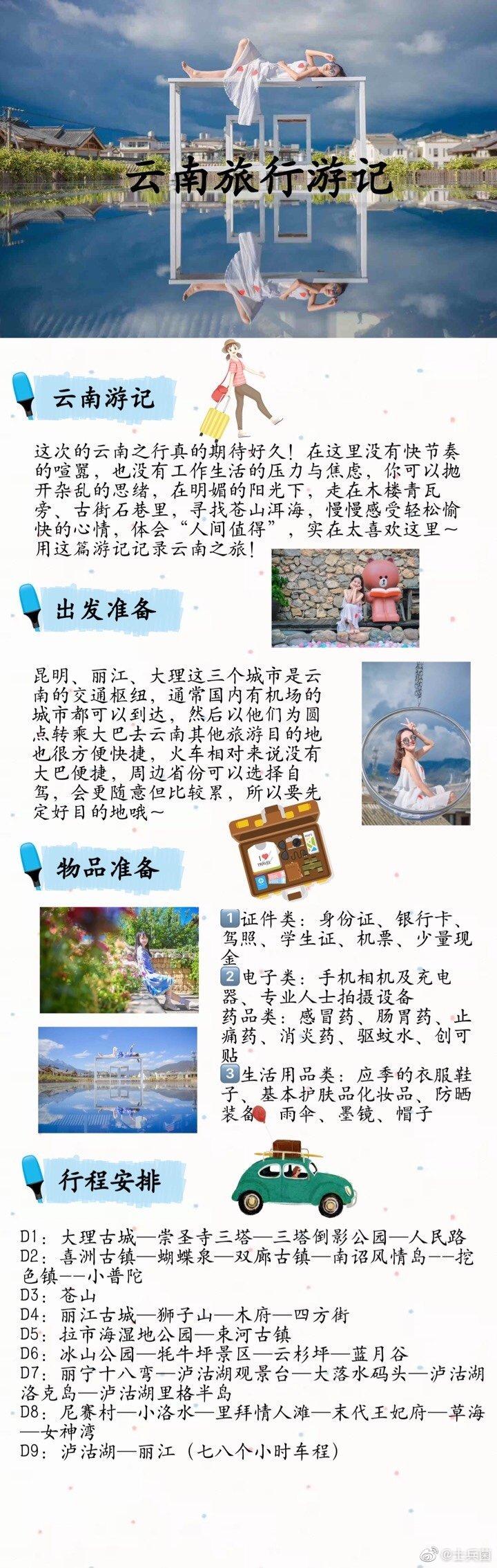 云南旅游攻略详细篇