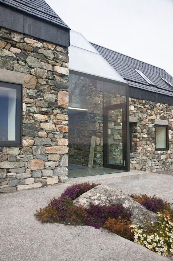 建筑设计丨石墙