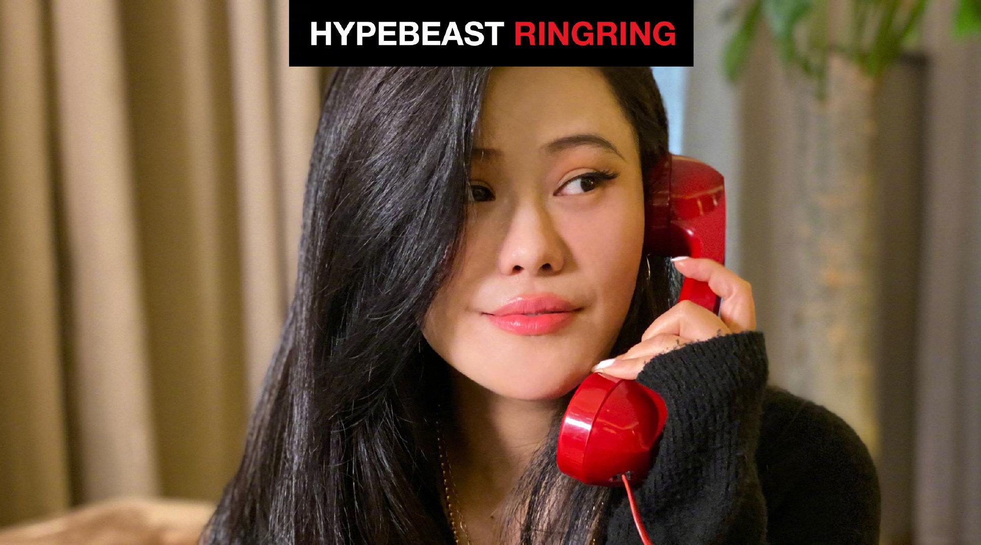 作客 HYPEBEAST 最新一期「RingRing」节目