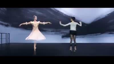 她是意大利芭蕾巨星