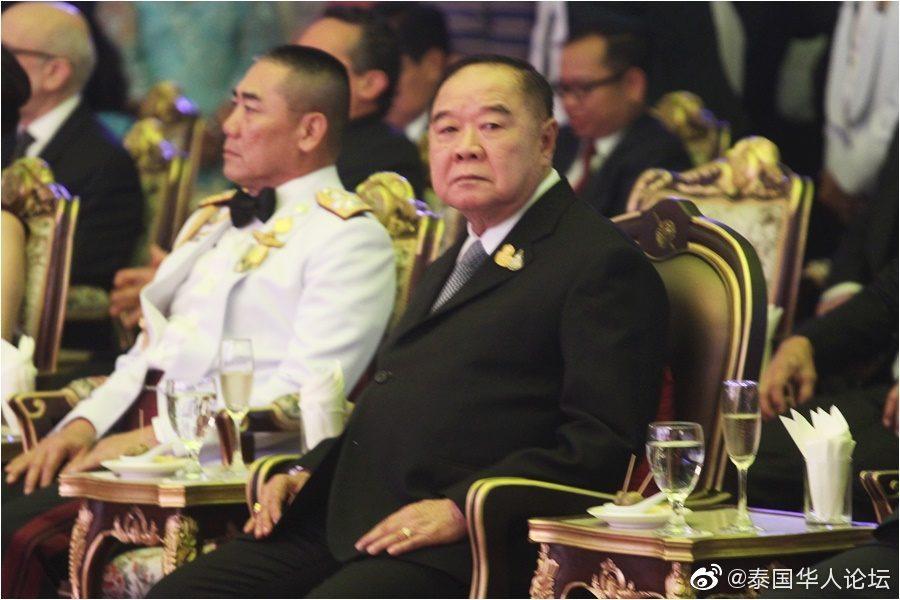 泰国国家警察总署成立周年晚宴 泰军方高层亲临