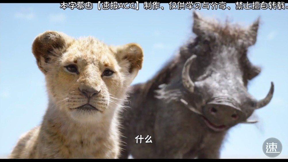 """日配版《狮子王》彭彭和丁满教小辛巴""""哈库那玛塔塔""""的片段展示"""