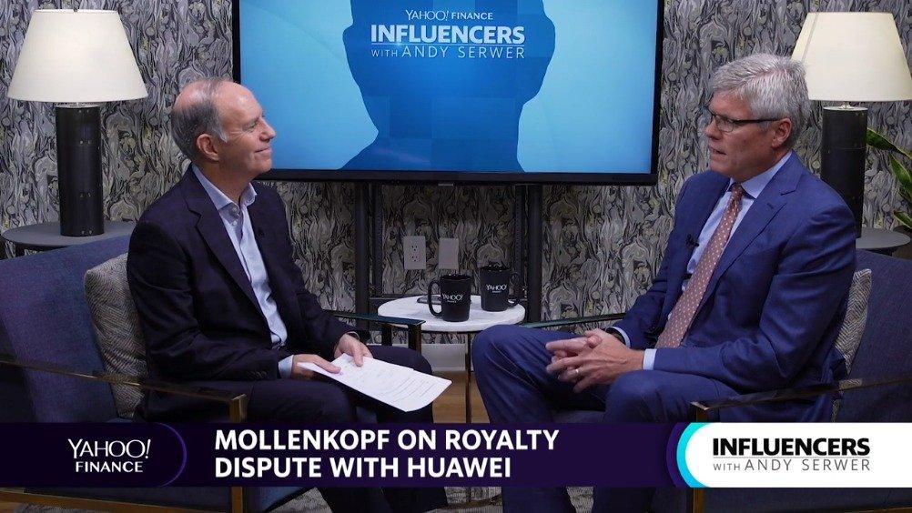 Steve Mollenkopf 接受雅虎财经采访完整全程