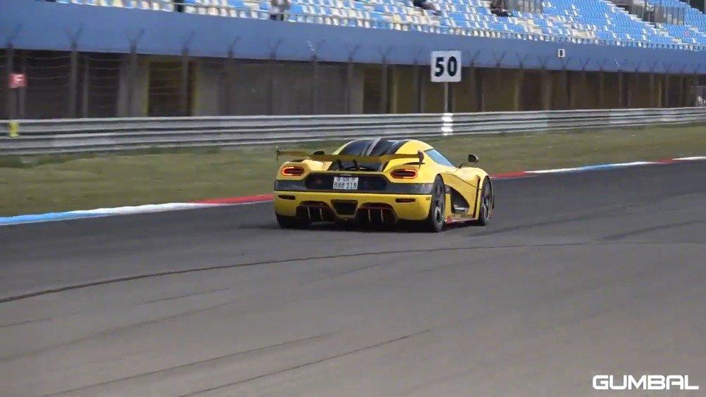 科尼赛克Agera RS,就是这么的帅!