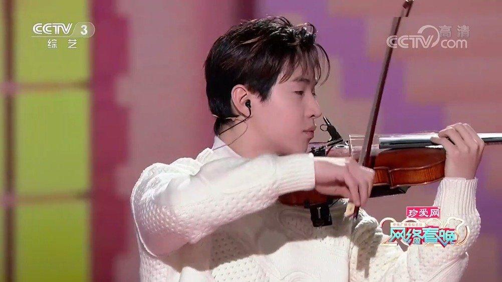 今天是小提琴boy,刘宪华2020年的愿望:我希望我能多上CCTV 好可爱