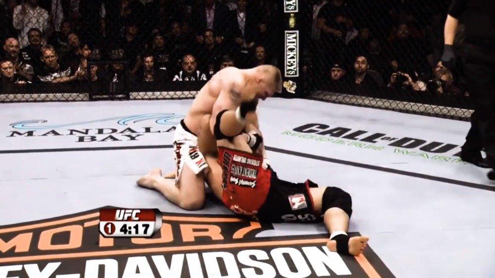 WWE&UFC双料冠军,布莱克莱斯纳 Brock Lesnar 生涯精彩集锦