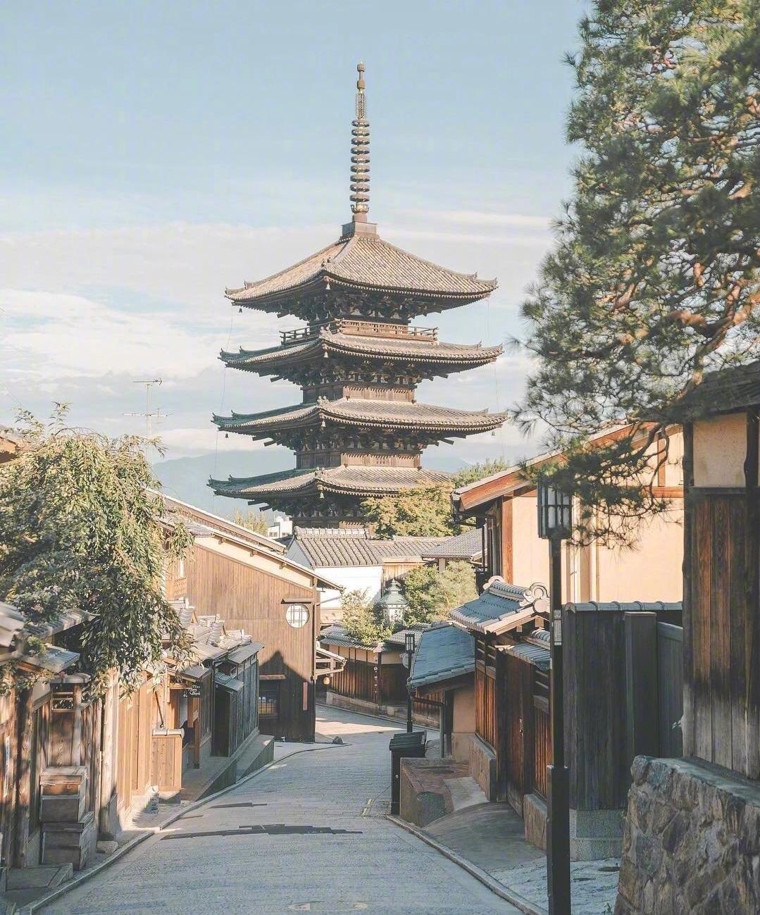 日本京都的治愈系街景。