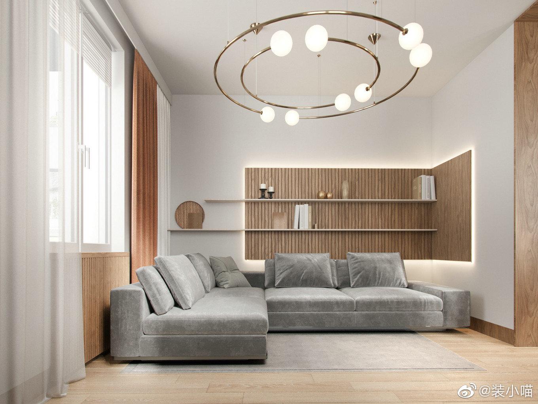 极简北欧混搭日式风,简洁又舒适的住宅