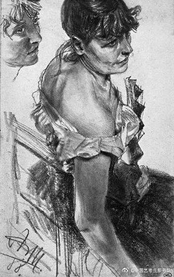 德国油画家、版画家 阿道夫·弗里德利希·艾尔德曼·冯·门采尔( Adolph