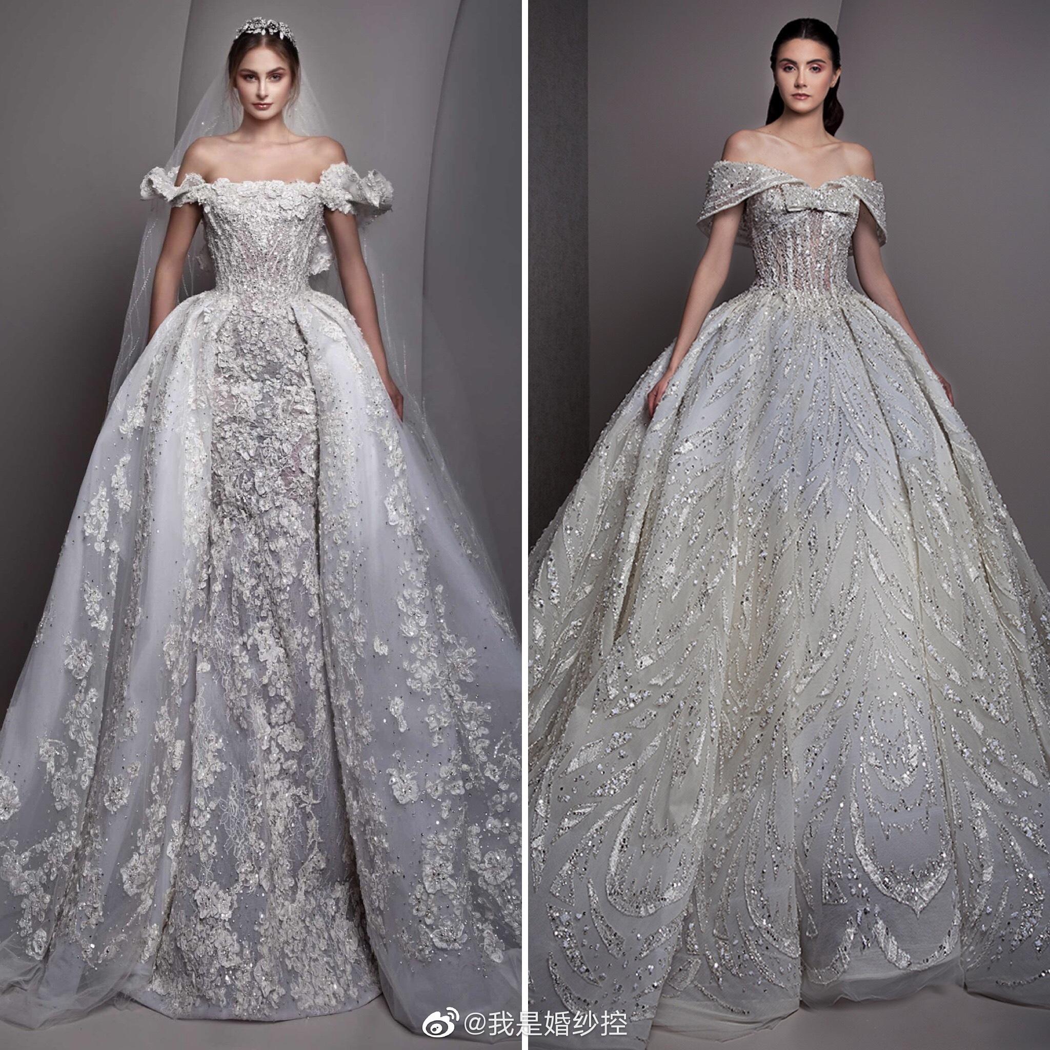 浓浓的中东宫廷气息来自黎巴嫩高定Ziad Nakad 2019婚纱系列