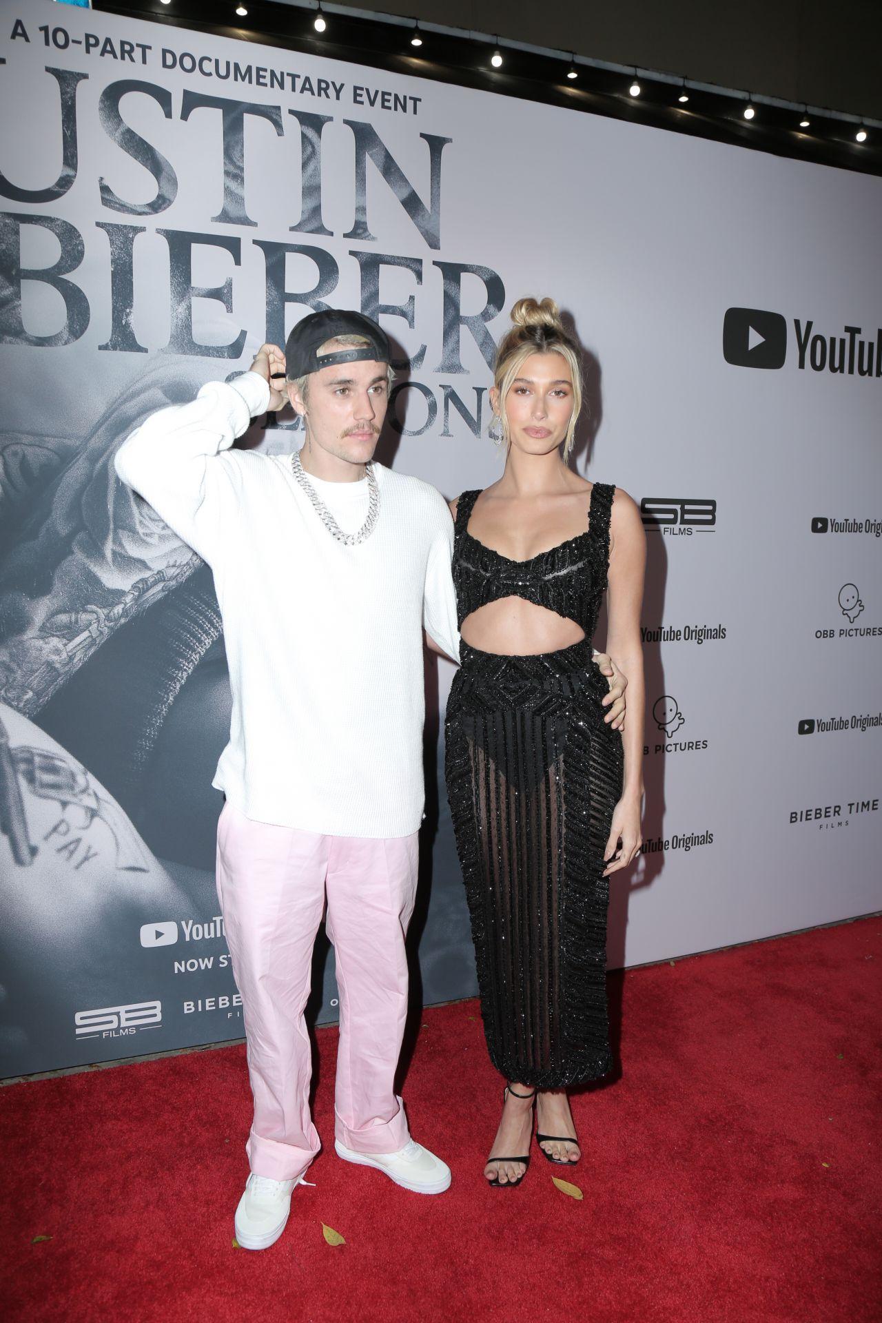 海莉·罗德·比伯(Hailey Rhode Bieber)和贾斯汀·比伯(Justin Biebe