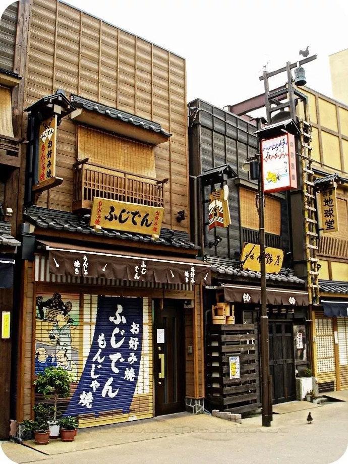 日本传统商店门面