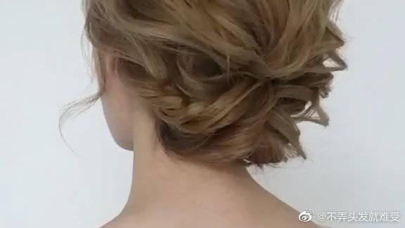 气质满满的仙女发型教程,还不赶快试试嘛?