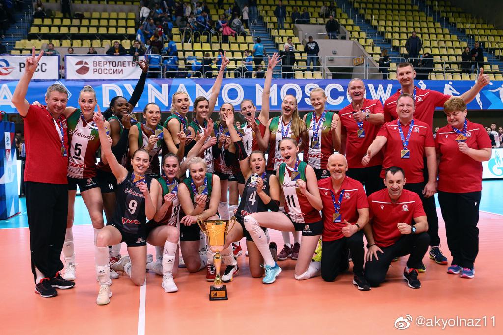 2018-2019赛季俄罗斯女排超级联赛第五轮暨超级杯决赛