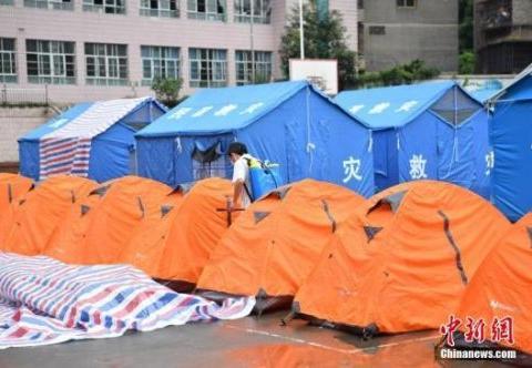 国家卫健委:灾区无传染病疫情和突发公共卫生事件报告