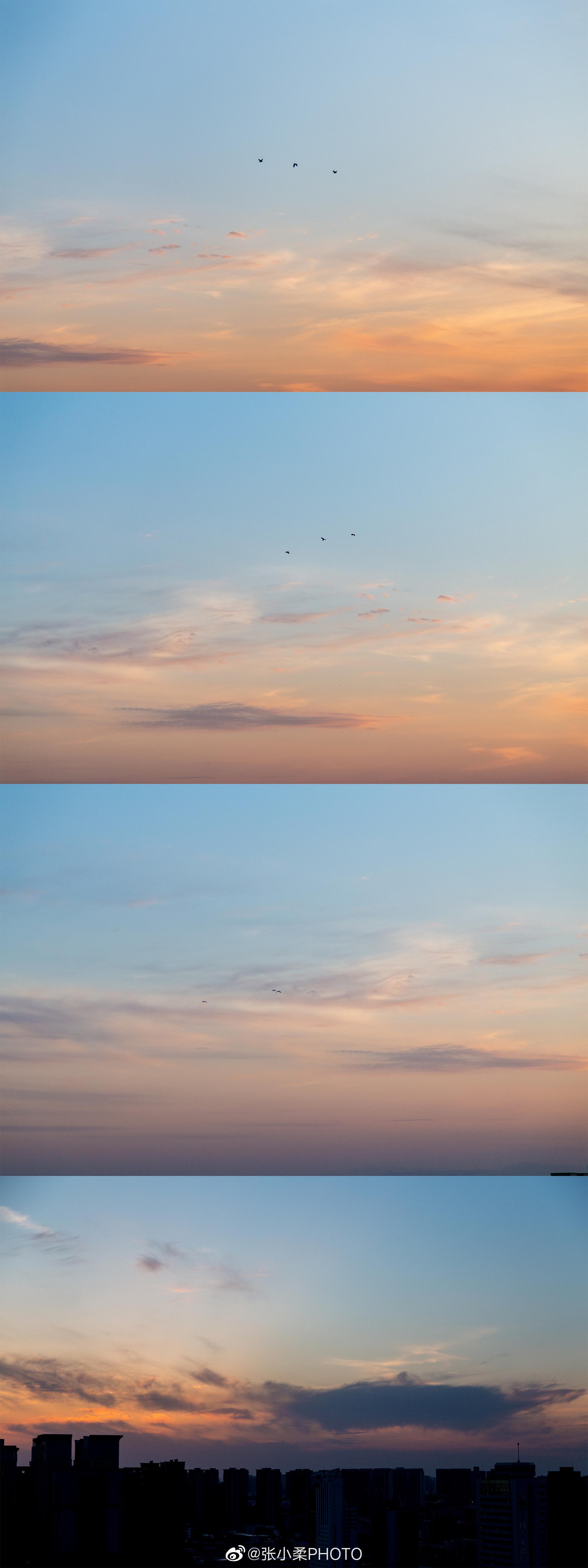 天空的素颜,你见过吗。 @张小柔PHOTO