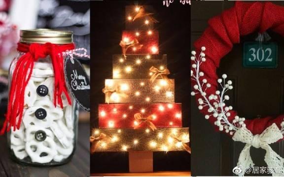 15个圣诞节主题的室内装饰品,打造一个完美的冬季房间