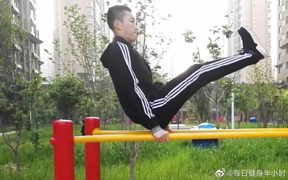 高中党无器械健身日常晨练,高中党学起来!
