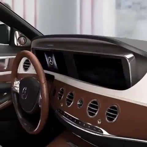 视频:未来的奔驰S仪表,真高级!