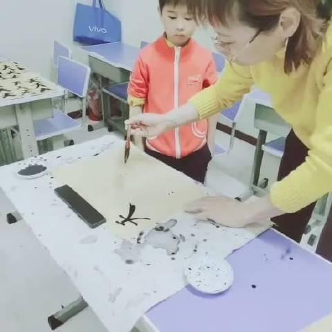 刘墨雅书画教学现场视频四