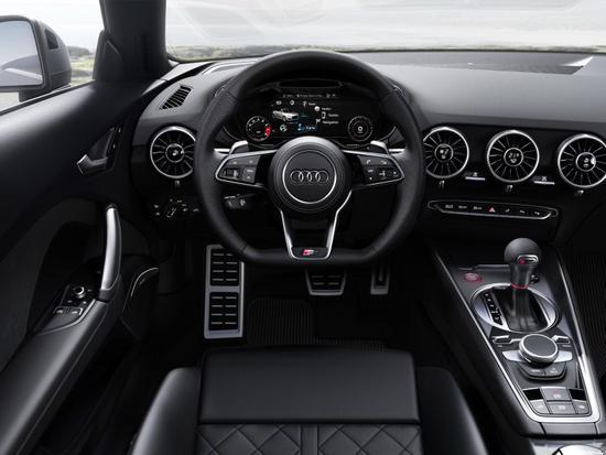 性能再提升 新款奥迪TTS Roadster官图发布