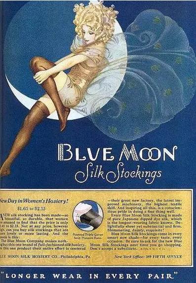丝袜广告1920s-40s
