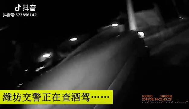 酒驾遇到交警,这个换座位的速度,是在燃烧你的卡路里吗