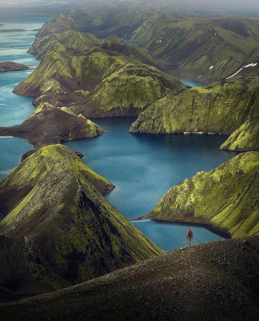 """冰岛一点都不""""冰"""""""