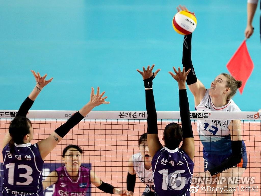 韩国女排kovo联赛