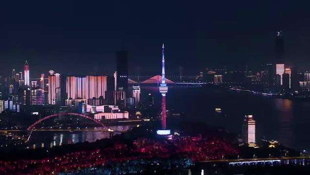 大武汉夜晚真美