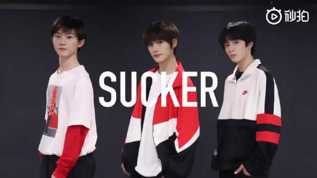 台风少年团丁程鑫、马嘉祺、刘耀文最新首尔训练汇报《Sucker》