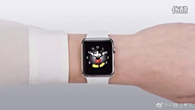 Apple Watch官方功能介绍:表盘-原创,看看苹果的黑科技吧~
