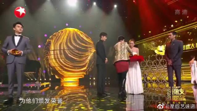 肖战、张若昀、王凯、罗云熙同台领奖,获得心动演员荣誉!