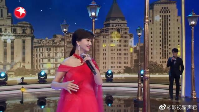 东方卫视春晚:不老女神赵雅芝时隔40年重唱《上海滩》歌声好美