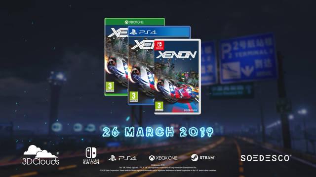 赛车游戏《Xenon Racer》3月26日在PS4/Xbox One/NS/Steam平台发售