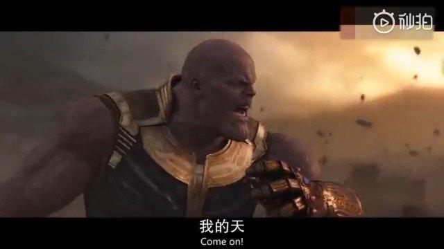 MVP钢铁侠单挑灭霸,以凡人之躯将灭霸打出血。