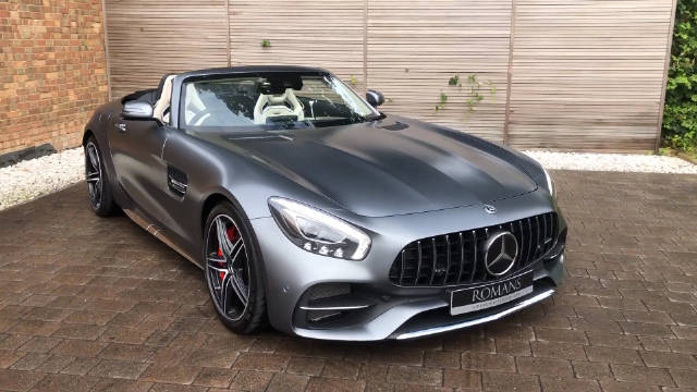 Mercedes-benz AMG GT C Roadster (分辨率:1080p)