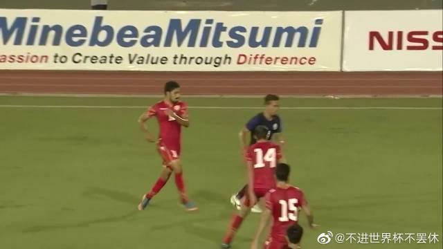 2022世预赛亚洲区40强赛,C组第二轮,柬埔寨0-1巴林!