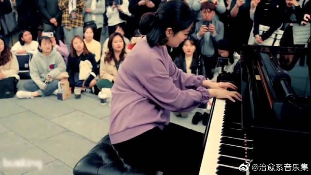 人类史上最难弹的钢琴曲,坐下那一刻,就没一个路人舍得走