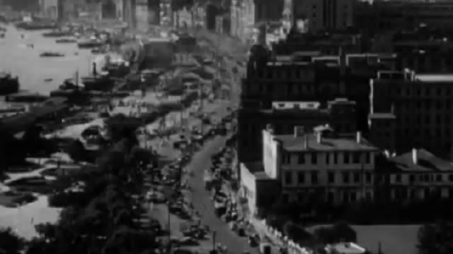 1947年的上海珍贵历史视频。关注@热门表哥 观看更多热门视频