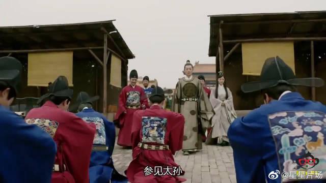 朱瞻基巡视北京皇宫修建进度,一块巨石运入故宫