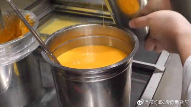 韩国街头小吃龙卷风煎蛋饭!做法好特别!味道肯定超赞!